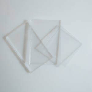 Placa PET-G transparent 0.5x1250x2050mm